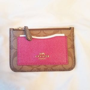 NWT Coach Card and Change Holder